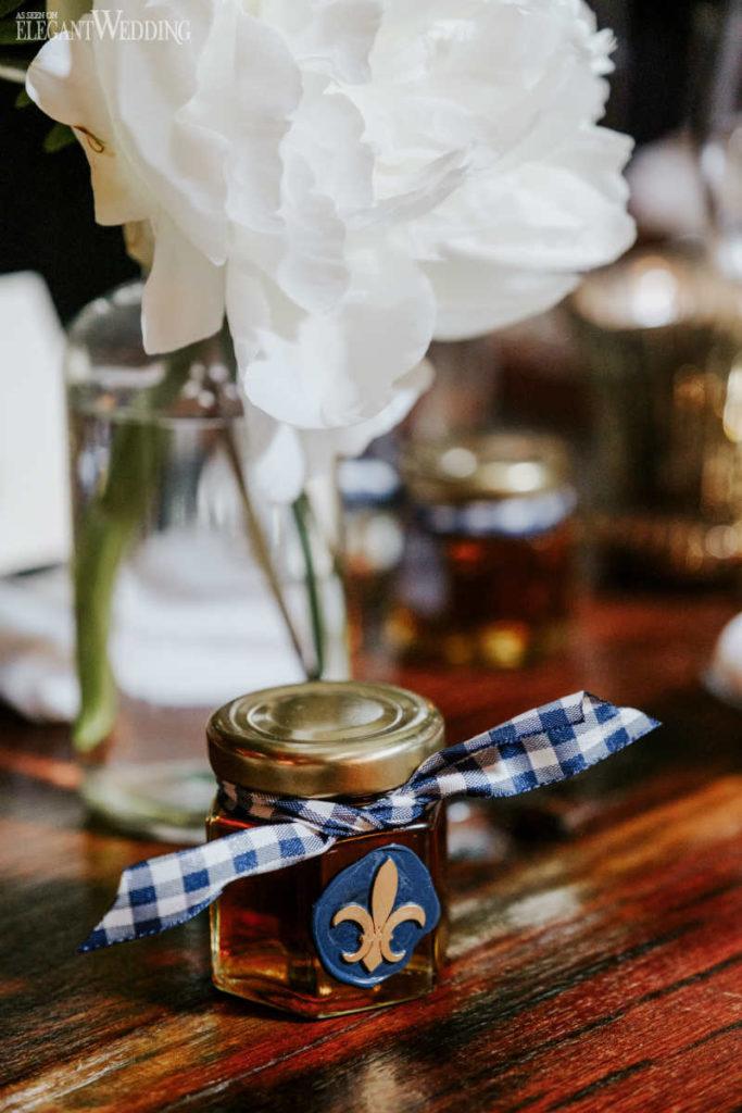 Honey Jar Wedding Favours