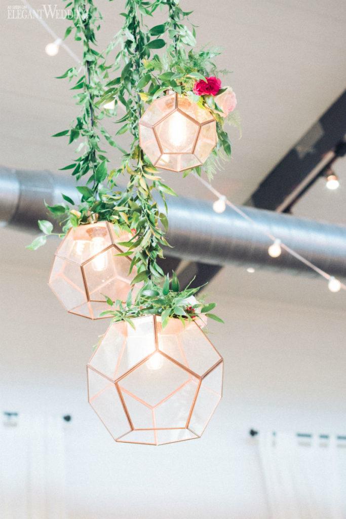 14 Hanging Wedding Decoration Ideas We Adore